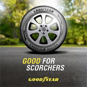 Goodyear good for scorchers