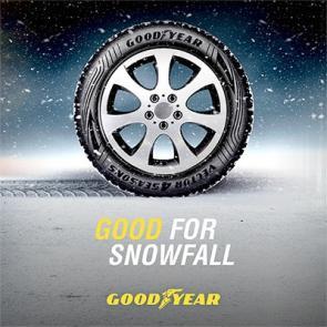 Goodyear good for snowfall