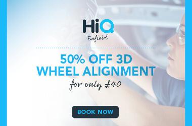 50% off Wheel Alignment