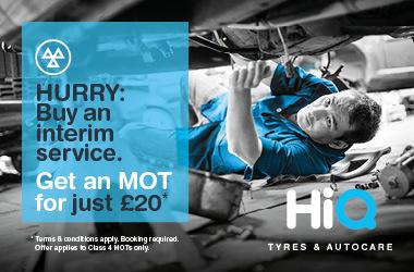 Buy an interim service. Get an MOT for £20.