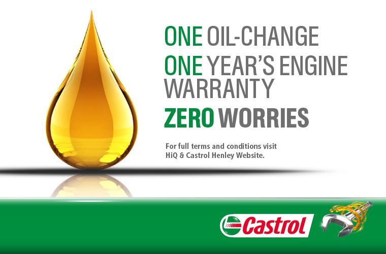 Castrol Engine Warranty Programme