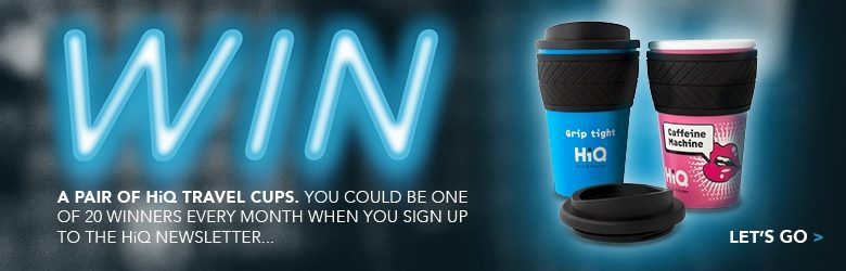 Sign up to win a free travel mug set