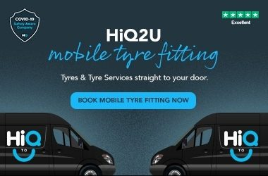 HIQ2 U BANNER 1180x250px Book Mobile Tyre Fitting Now